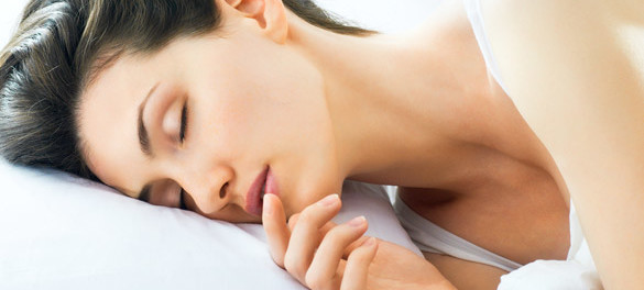 sleep and youthful body