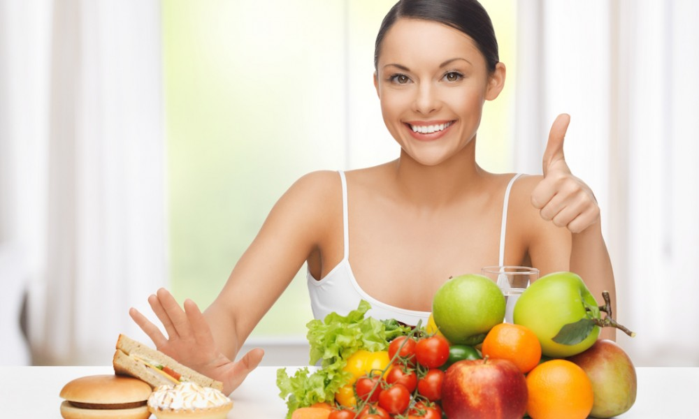 belly fat and fresh organic foods